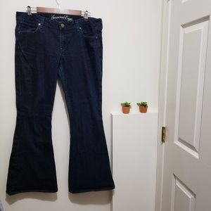 American Eagle Real Flare Jeans, Size 14